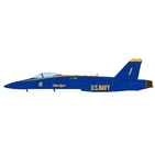 JC Wings Military 1:72 United States Navy (USN) Blue Angels McDonnell Douglas F/A-18E Super Hornet, No. 1 (JCW-72-F18-009) with Stand