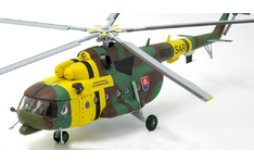 JC Wings Military 1:72 Slovak Air Force Mil Mi-17 Hip, 1st Training and SAR Squadron, 0820 (JCW-72-Mi17-001) with Stand