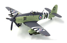 JC Wings Military 1:72 Royal Navy Hawker Sea Fury FB MK. II, Commander Peter (Hoagy) Carmichael, No. 802 Squadron FAA, Korean War, 1952, WJ232 / 114 (JCW-72-SFURY-001)