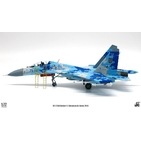 JC Wings Military 1:72 Ukrainian Air Force Sukhoi Su-27UB Flanker-C, 831st IAP, Myrhorod AB, Blue 71 (JCW-72-SU27-006) with Stand