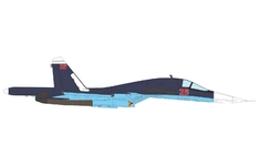 JC Wings Military 1:72 Russian Air Force Sukhoi Su-34 Fullback, Hmeimim AB, Syria, 2015 Red 25 (JCW-72-SU34-001) with Stand