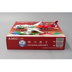 JC Wings 1:400 Sichuan Airlines Airbus A350-900 XWB 'Panda - Flaps Up' B-301D (KD4101)