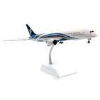 JC Wings 1:200 Oman Air Boeing B787-900 Dreamliner 'Delivery' A40-SC (LH2118)