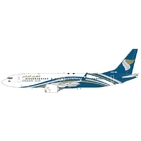 JC Wings 1:200 Oman Air Boeing B737-800 MAX A4O-MB (LH2123)