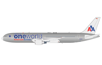 JC Wings 1:200 American Airlines Boeing B767-300(ER) 'OneWorld' N395AN (LH2AAL173 / LH2173)