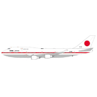 JC Wings 1:200 Japan Air Self-Defence Force (JASDF) Boeing B747-400 'Flaps Up' 20-1102 (LH2208)