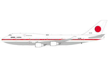 JC Wings 1:200 Japan Air Self-Defence Force (JASDF) Boeing B747-400 'Flaps Up' 20-1102 (LH2JSD208 / LH2208)