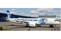 JC Wings 1:200 EgyptAir Express Airbus A220-300 'Delivery' SU-GEX (LH2230)