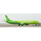 JC Wings 1:200 S7 - Siberia Airlines Cargo Boeing B737-800(BCF)w 'Flaps Up' VP-BEN (LH2302)