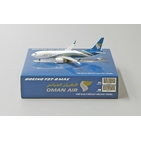 JC Wings 1:400 Oman Air Boeing B737-800 MAX 'Delivery' A4O-MA (LH4087)