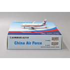 JC Wings 1:400 People's Liberation Army Air Force (PLAAF - China Air Force) Airbus A319-100 VIP B-4090 (LH4121)