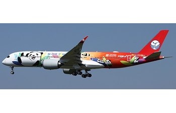 JC Wings 1:400 Sichuan Airlines Airbus A350-900 XWB 'Panda Route - Flaps Up' B-306N (LH4CSC145 / LH4145)