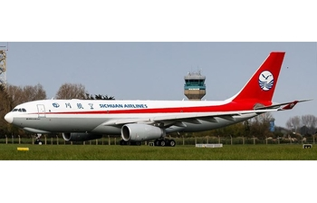 JC Wings 1:400 Sichuan Airlines Cargo Airbus A330-200F 'Delivery' B-308Q (LH4CSC146 / LH4146)