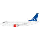 JC Wings 1:200 SAS Scandinavian Airlines Boeing B737-500 LN-BRO (XX2018)