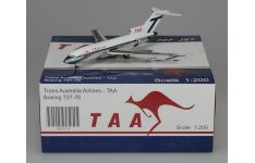 JC Wings 1:200 Trans Australia Airlines (TAA) Boeing B727-76 VH-TJC (XX2874)