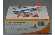 JC Wings 1:200 Trans Australia Airlines (TAA) Lockheed L-188 Electra 'Orange Tail' VH-TLB (XX2182)