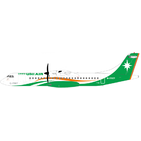 JC Wings 1:400 Uni Air Aerospatiale ATR-72-500 B-17007 (XX4379)