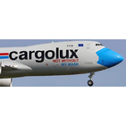 JC Wings 1:200 Cargolux Airlines International Boeing B747-800F 'Not Without My Mask' LX-VCF (XX20079)
