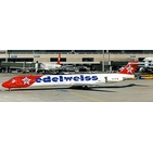 JC Wings 1:200 Edelweiss Air McDonnell Douglas MD-83 HB-IKP (XX20095)