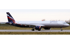 JC Wings 1:200 Aeroflot - Russian Airlines Airbus A321-200 NEO VP-BPP (XX20108)