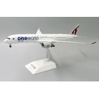 JC Wings 1:200 Qatar Airways Airbus A350-900 XWB 'OneWorld - Flaps Up' A7-ALZ (XX2050)