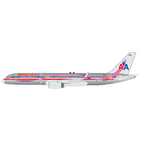 JC Wings 1:200 American Airlines Boeing B757-200w 'Breast Cancer Awareness' N664AA (XX2191)