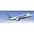 JC Wings 1:400 Ryanair Boeing B737-800 MAX 200 'Delivery' EI-HAT (XX4149)
