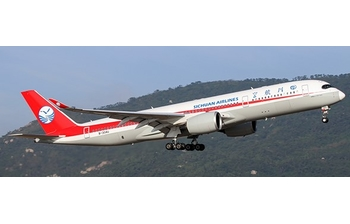 JC Wings 1:400 Sichuan Airlines Airbus A350-900 XWB 'Flaps Down' B-304U (JC4CSC044A / XX4044A)