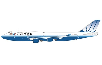 JC Wings 1:200 United Airlines Boeing B747-400 '2008 US Olympic Team - Flaps Down' N199UA (JC2UAL268A / XX2268A)