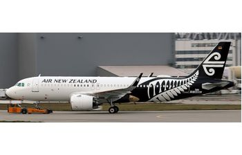 JC Wings 1:400 Air New Zealand Airbus A320-200 NEO 'New Colours' ZK-NHA (JC4ANZ208 / XX4208)