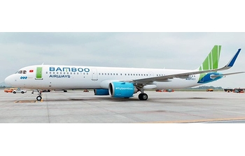 JC Wings 1:400 Bamboo Airways Airbus A321-200 NEO VN-A591 (JC4BAV166 / XX4166)