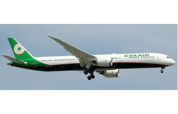 JC Wings 1:200 Eva Air Boeing B787-10 Dreamliner 'Delivery' B-17801 (JC2EVA309 / XX2309)