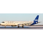 JC Wings 1:200 SAS Scandinavian Airlines Airbus A321-200 'New Colours' OY-KBH (XX2426)