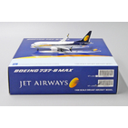 JC Wings 1:400 Jet Airways Boeing B737-800 MAX VT-JXB (XX4063)