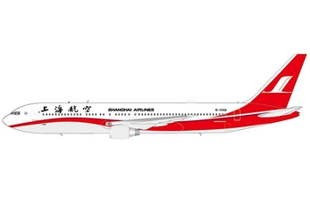 JC Wings 1:400 Shanghai Airlines Boeing B767-300(ER) B-2566 (JC4CSH140 / XX4140)