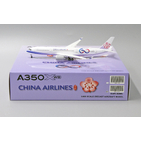 JC Wings 1:400 China Airlines Airbus A350-900 XWB '60th Anniversary - Flaps Down' B-18917 (XX4168A)