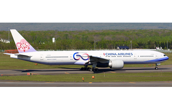 JC Wings 1:400 China Airlines Boeing B777-300(ER) '60th Anniversary - Flaps Up' B-18006 (JC4CAL178 / XX4178)