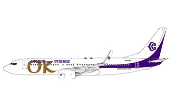 JC Wings 1:400 Okay Airways Boeing B737-800w B-5367 (JC4OKA413 / XX4413)