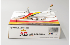 JC Wings 1:400 Air Belgium Airbus A340-300 OO-ABA (XX4420)