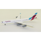 JC Wings 1:400 Eurowings Airbus A340-300 'New Colours' OO-SCW (XX4423)