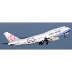 JC Wings 1:400 China Airlines Boeing B747-400 '60th Anniversary - Flaps Up' B-18210 (XX4462)