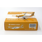 JC Wings 1:400 Scoot Singapore Airbus A320-200SL 'Conscious Coupling' 9V-TRN (XX4722)