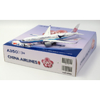JC Wings 1:400 China Airlines Airbus A350-900 XWB 'Mikado Pheasant - Flaps Up' B-18901 (XX4724)