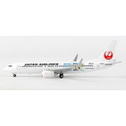 JC Wings 1:400 JAL Japan Airlines Boeing B737-800w 'Journeys with Duffy' JA318J (XX4726)