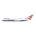 NG Model 1:200 British Airways (Maersk Air) Bombardier CRJ-200LR G-MSKP (NG52011)