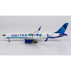 NG Model 1:400 United Airlines Boeing B757-200w 'Her Art Here: Tsungwei Moo (California)' N14106 (NG53151)