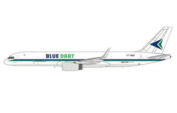 NG Model 1:400 Blue Dart Aviation Boeing B757-200(F)w VT-BDB (NG53156)