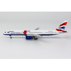 NG Model 1:400 British Airways Boeing B757-200 'Pause to Remember' G-BPEK (NG53158)