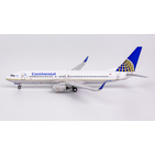 NG Model 1:400 Continental Air Lines Boeing B737-800w N77296 (NG58027)