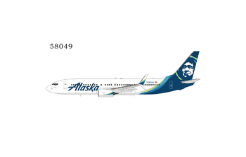 NG Model 1:400 Alaska Airlines Boeing B737-800S 'New Colours' N565AS (NG58049)
